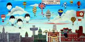 Ballooning Over Liverpool